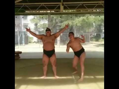 SUMO!Amazing physical ability of wrestlers