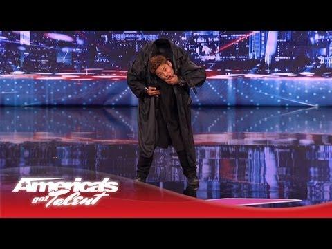 Kenichi Ebina Performs an Epic Matrix- Style Martial Arts Dance – America's Got Talent